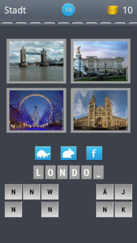 4Bilder1Ort_London