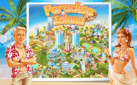 paradise island freunde finden