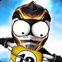 Stickman Downhill Motocross App