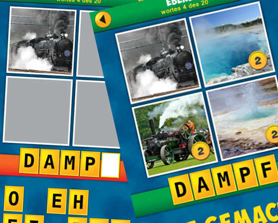 Vier Bilder Rätsel Lösung