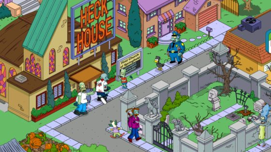 simspsons springfield treehouse of horror