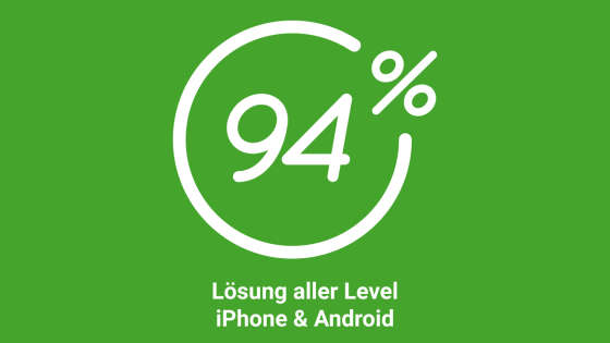 Hier alle l sungen finden 94 prozent app antworten f r for Badezimmer 94 prozent